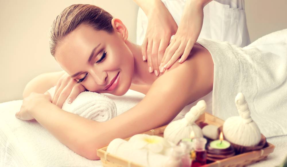 Wohltuende Wellness-Massage
